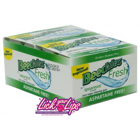 BEECHIES BLISTER SPEARMINT