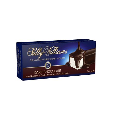 SALLY WILLIAMS - 50 G -  DARK NOUGAT BARS