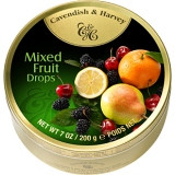 C & H MIX FRUIT TRAVEL TINS - 200 G
