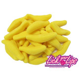 BULK SWEETS - BANANAS SUGARED - 1 KG BAG - NEW !!!